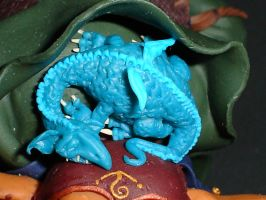 Dragon closeup by mellisea