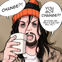 Chester A. Bum by yesi-chan