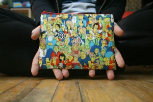 Where's Bart? zippered pouch by HellhoundFashion
