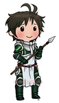 Chibi Stahl by roseannepage