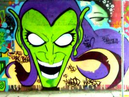 The Green Goblin by StenSergiampietri