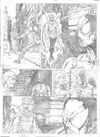 Spiderman Sample Page 1 - A3 pencil by IgorChakal
