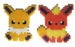 Eeveelutions (updated) by Rest-In-Pixels