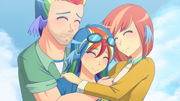 Supportive Family (Pic of the week MLPS7E7) by JonFawkes