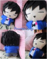 Francisco Chang plushie. by BigNaye
