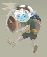 LOL-Tristana by nnasatw