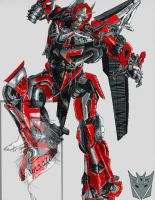 Sentinel Prime colors by BDixonarts
