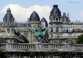 France reborn and buildings by EUtouring