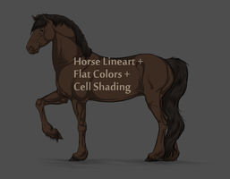 Downloadable Horse Base! by Tharkenta