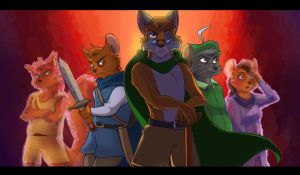 The Heroes of Undying Friendship- by Saphamia by Gardboyz-Productions