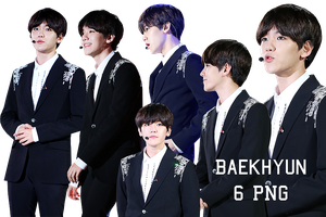 EXO Baekhyun PNG Pack {Incheon Korean Music Wave} by kamjong-kai