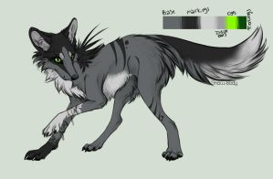 Wolf Adoptable [CLOSED] by FaggotAdopts