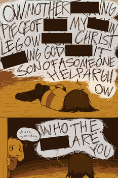 [UNDERTALE SPOILERS] A call for something anyway by zarla