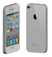 3ds Max- White iPhone 4 by Gikairan