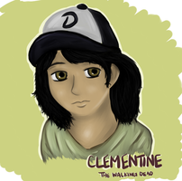 Clementine - The Walking Dead by love4puppi