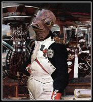 The Admiral (Steampunk Ackbar) by Rabittooth