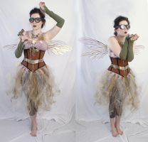 steampunk fairy 2 by magikstock