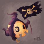 Pirate Duskull by Mokka-Quill