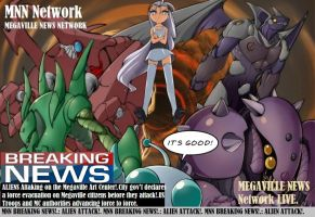 MEGAVILLE NEWS NETWORK(MNN) LIVE!.:ALIENS ATTACK!. by SoapMacTavishTF141