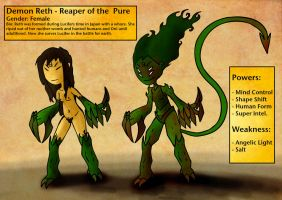 Demon Reth - Reaper of the Pure by Thomas-J-Baker