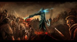 Diablo III Army fight by crossing636