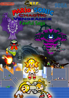 Chaotic Vengeance Fawful Saga Poster by Mazznick