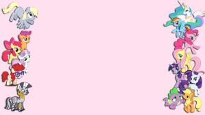 MLP Formspring background by Pixelated-Beauty