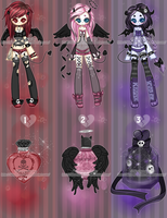 Deadly Cute Parfume Adoptables CLOSED by Hunibi