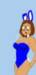 Meg As A Bunnygirl by artful-bodger