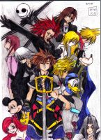 Kingdom Hearts Heroes by Axel26