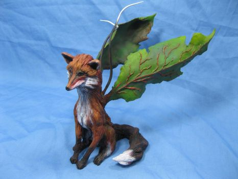 Painted Fox Faery 3 by RavendarkCreations