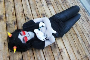 Homestuck - Terezi Pyrope cosplay by Sioxanne