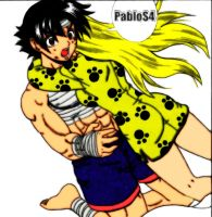 kenichi colored :D by S4Pabl0
