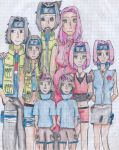 Uchiha Family by L-U-C-K-Y-Diamond