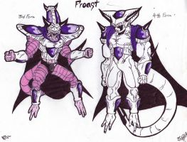 DBZ Villain OC: Froast by blazewb