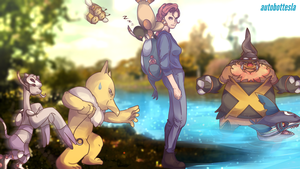 Commission 78 - Johto Journey by AutobotTesla