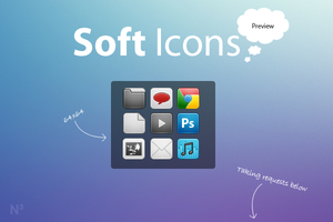 Soft Icons Preview by NomNuggetNom