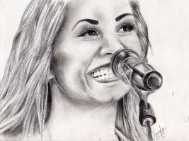 Demi Lovato by lauragranholm