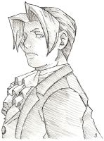 Edgeworth Pen Drawing No. 1 by kaolincash