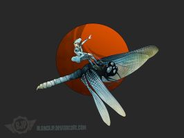 dragon fly by blancaJP