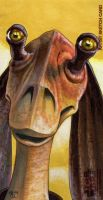Jar Jar Binks by Dangerous-Beauty778