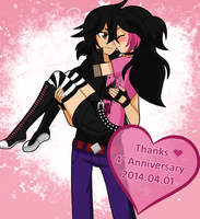 4th Anniversary by candy-channeru