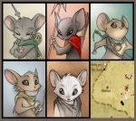 MouseGuard Portraits by Dreamkeepers