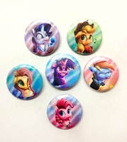 MLP Buttons 2014! by Tsitra360