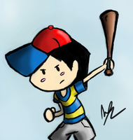 Ness by MeganImel