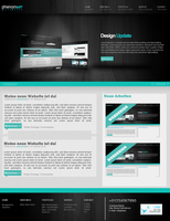 Light Wood Webdesign by phenomart