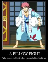Fairy Tail Motivational: Pillow Fight by TheMJE