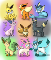 Eeveelution! by DreamyNormy