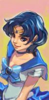 Sailor Mercury by COMTgene