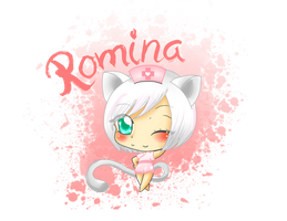 Chibi Request - Holaaa enfermera by Angie-MR
